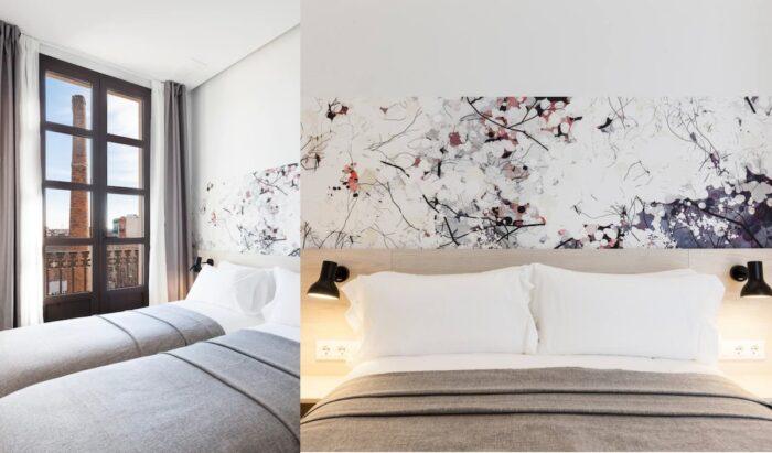 Elegant three-bedroom Airbnb for six people