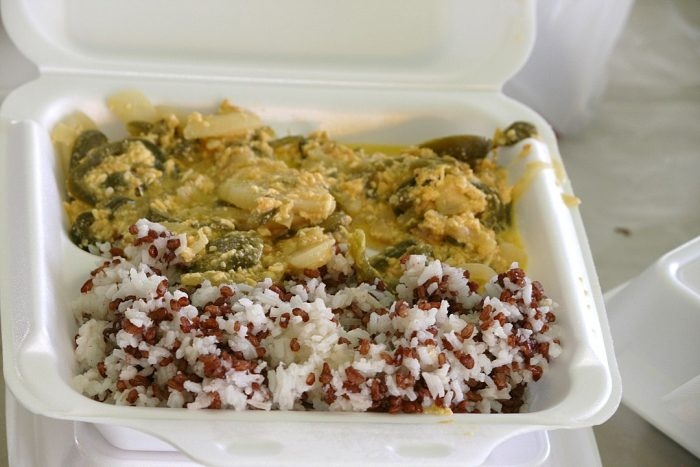 Ema datshi with rice by Thejinan via Wikipedia CC