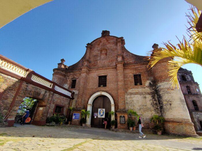 Facade of Santa Maria Parish in Ilocos Sur