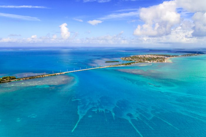 Florida Keys Aerial View via Depositphotos