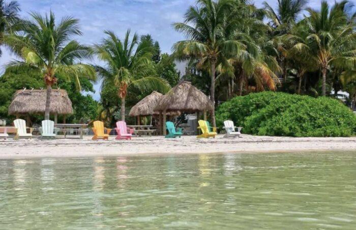 Florida Keys vacation rental beachfront