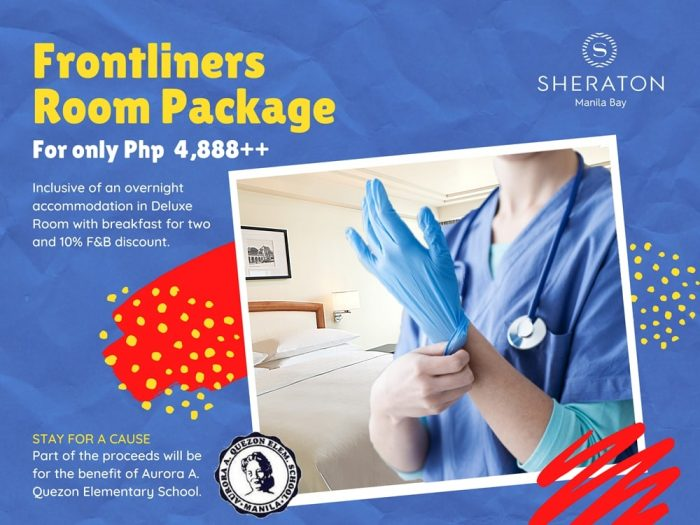 Frontliners Room Package at Sheraton Manila Bay