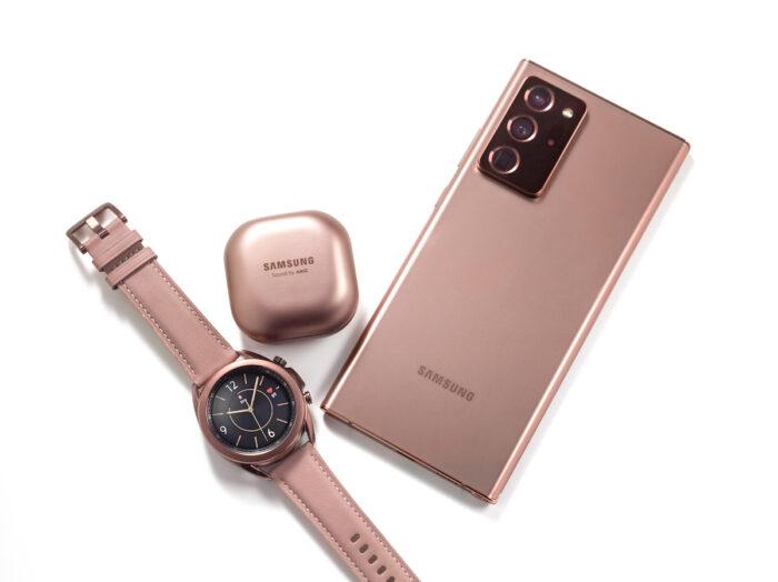 Galaxy Watch3, Galaxy buds live and Galaxy Note20 ultra