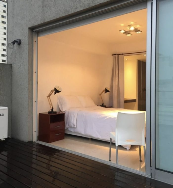 Grand terrace apartment Airbnb in Buenos Aires