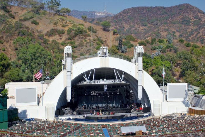 Hollywood Bowl by Matthew Field via Wikipedia CC