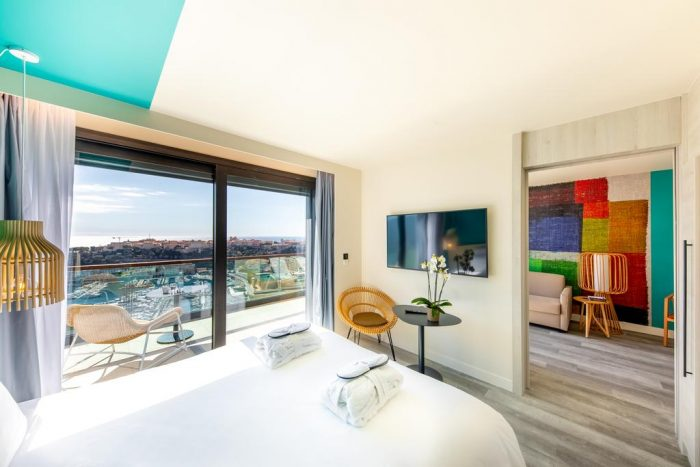 Hotel Rooms with a View at Novotel Monte-Carlo