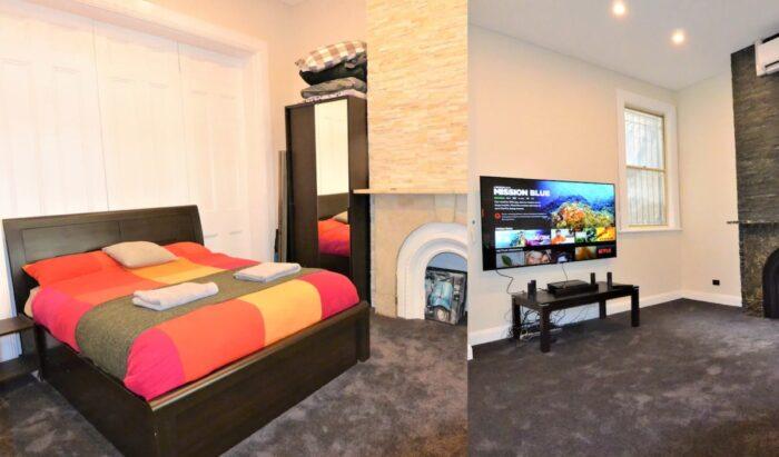 Huge Double Bedroom Airbnb in Sydney With Cinema
