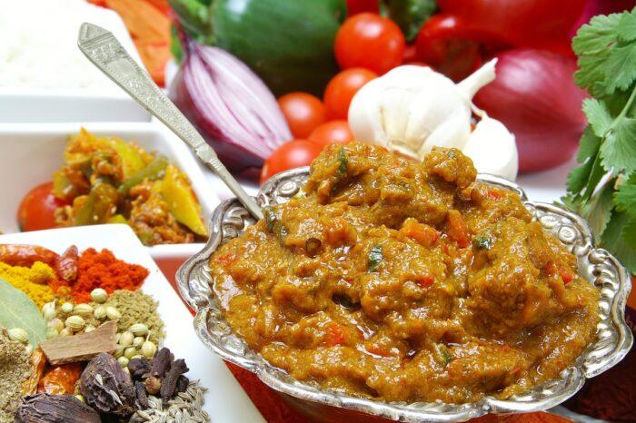 Indian beef madras curry photo via Depositphotos