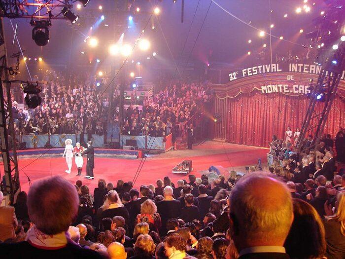 International Circus Festival of Monte-Carlo by GeorgePrikkel via Wikipedia CC