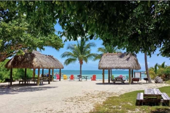 Islamadora Airbnb with Private Beach and Boat Rental