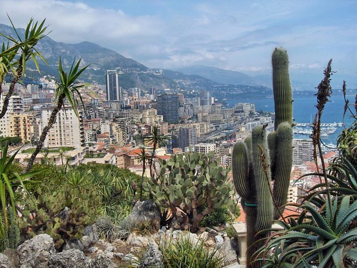 Jardin Exotique de Monaco by Georges Jansoone via Wikipedia CC