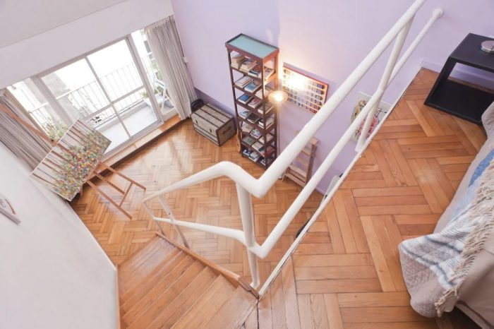 LOFT Type Apartment in Buenos Aires with Balcony