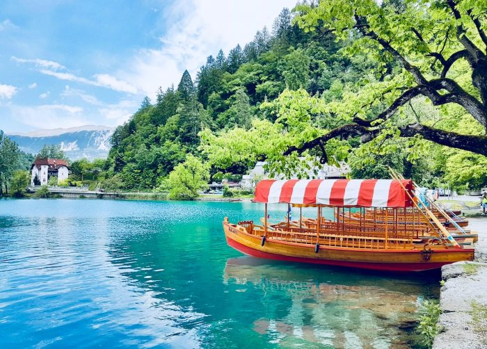 Lake Bled photo by Jason Thomas via Unsplash