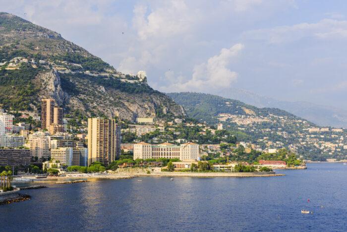 Larvotto Beach in Monaco photo via Depositphotos