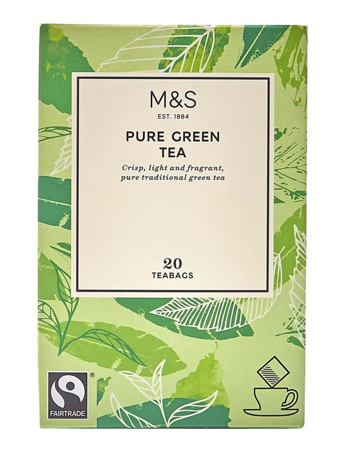 Marks & Spencer Pure Green Tea, P135