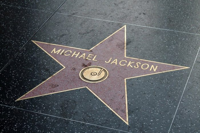 Michael Jackson Walk of Fame in Hollywood
