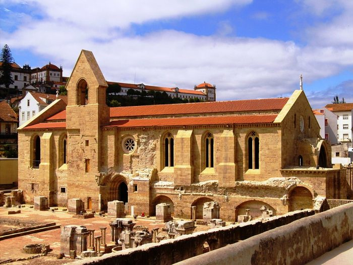 Monastery of Santa Clara-a-Velha by Carlos Luis M C da Cruz via Wikipedia CC