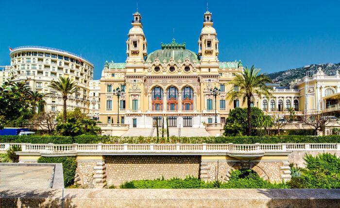 Monte-Carlo Casino and Opera House, Monaco photo via DepostPhotos