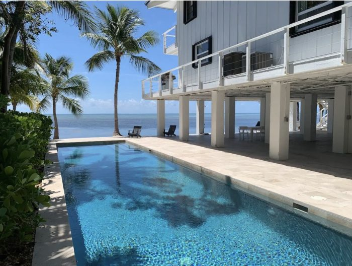 Ocean Front Home Rental in Islamorada with Swimming Pool