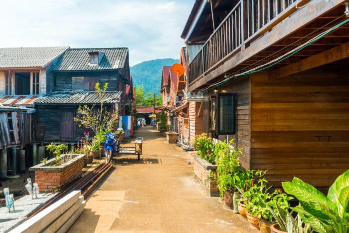 Old Town in Koh Lanta Island photo via Depositphotos