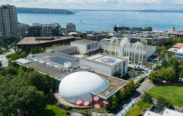 Pacific Science Center by Mj via Wikipedia CC