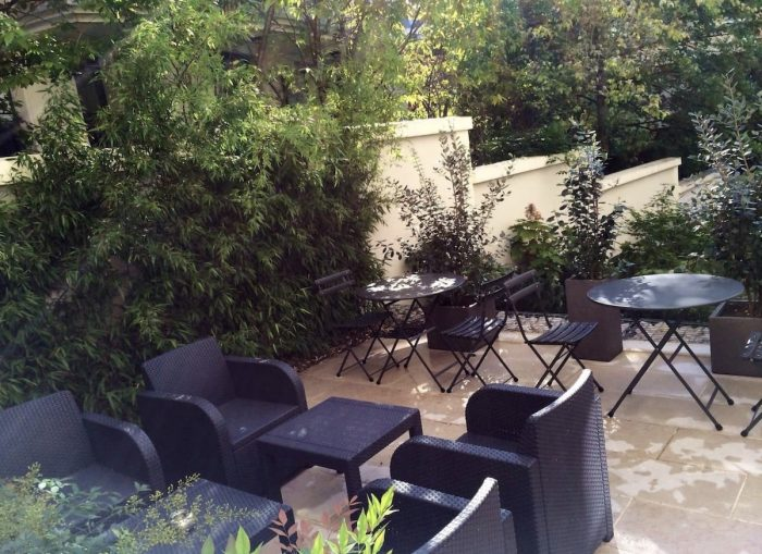Paris Airbnb with a private garden