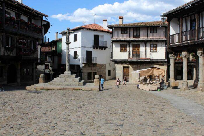 Plaza Mayor of La Alberca