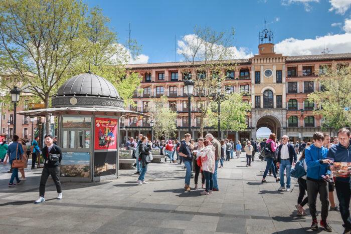 Plaza de Zocodover photo via Depositphotos