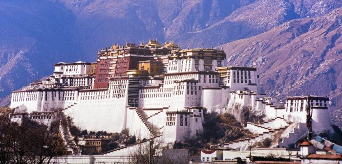 Potala Palace in Lhasa, Tibet, former home of the Dalai Lama via Deposit Photos