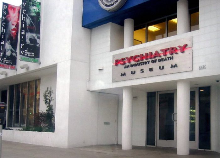Psychiatry: An Industry of Death Museum by Museum Geek via Wikipedia CC