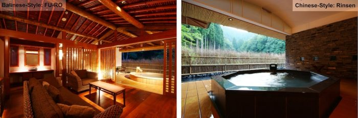 Relaxing in a Private Onsen in Kinosaki