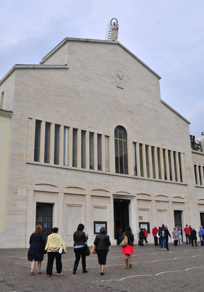 Santa Maria del Grazie church.