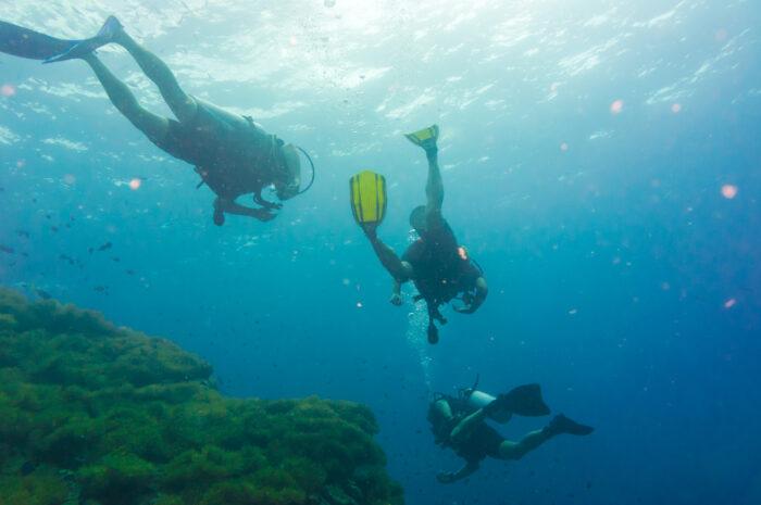 Scuba Diving in Koh Lanta photo via Depositphotos