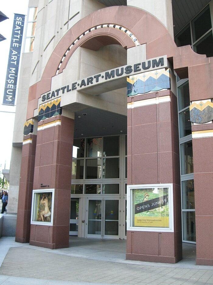 Seattle Art Museum by Rootology via Wikipedia CC