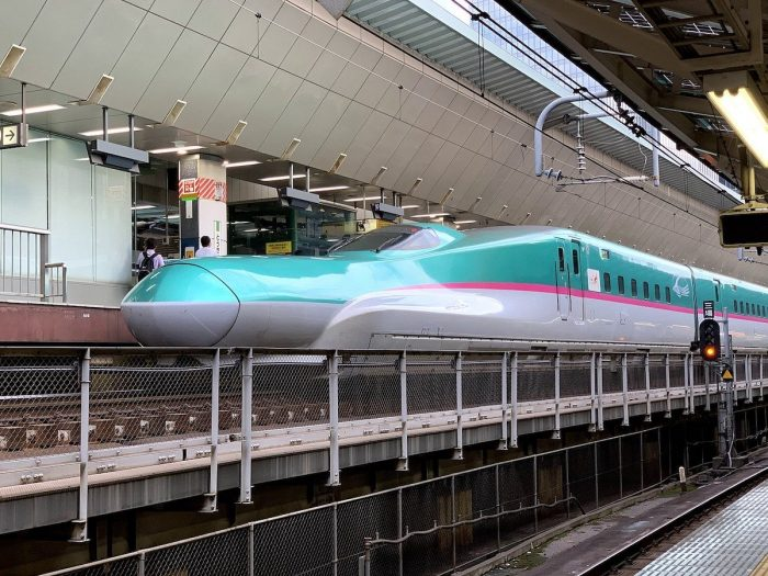 Shinkansen Bullet Train from Tokyo to Kyoto
