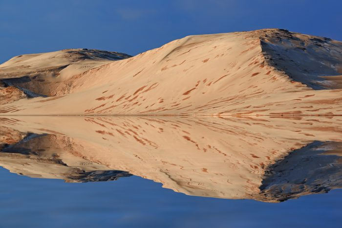 Silver Lake Sand Dunes photo via Depositphotos