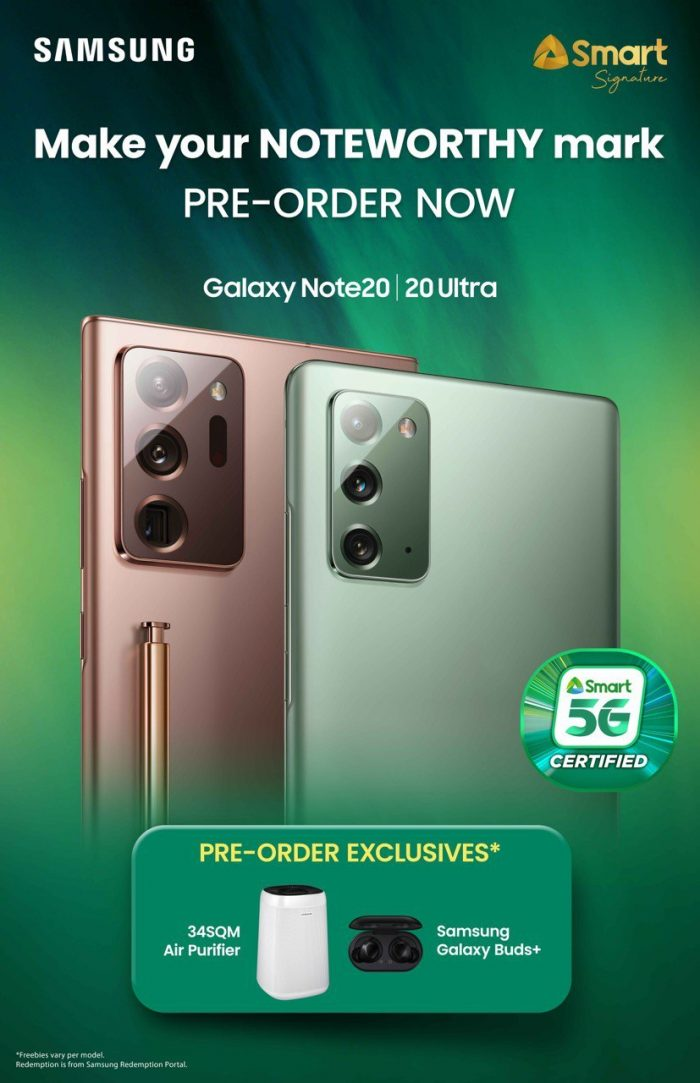 Smart x Note20 Preorder
