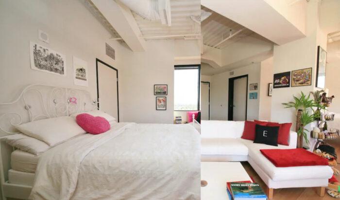 Stylish Hollywood Airbnb Loft Rental with Views