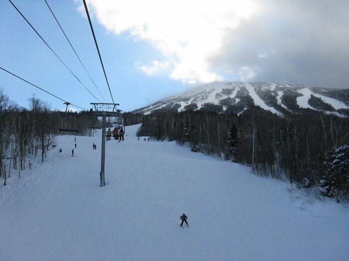Sugarloaf Ski Resort by Bubblecuffer via Wikipedia CC