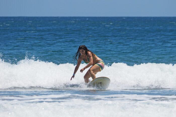 Surfing in Nicaragua photo via Depositphotos
