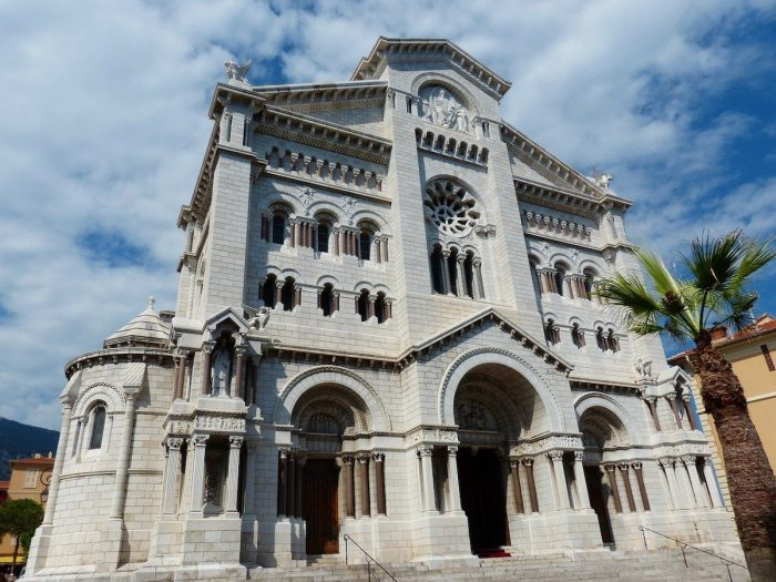 The Cathedral of Our Lady Immaculate in Monaco