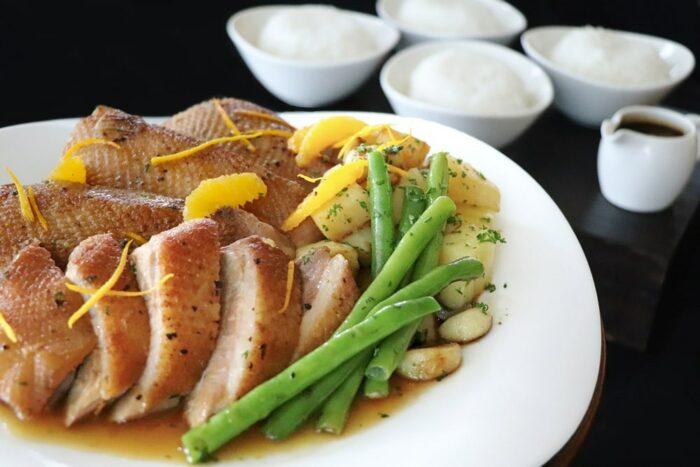The New Culinary Courier Duck Al Orange Sheraton Bay Manila Bay