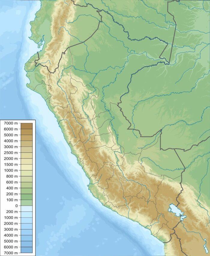 Urubamba Sacred Valley Map by Urutseg via Wikipedia CC