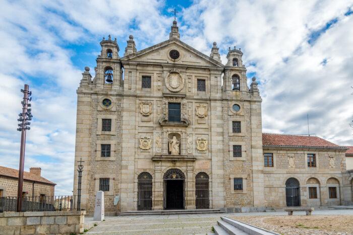 View at the Convent Santa Teresa of Avila photo via Depositphotos