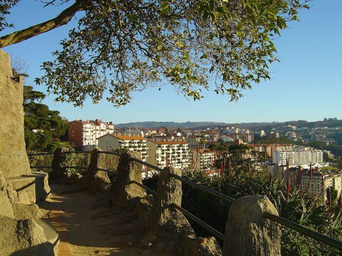 View of the City from Penedo da Saudade Coimbra by Vitor Oliveira via Flickr CC