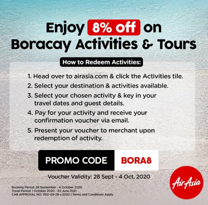AirAsia Boracay Activities and Tours Promo