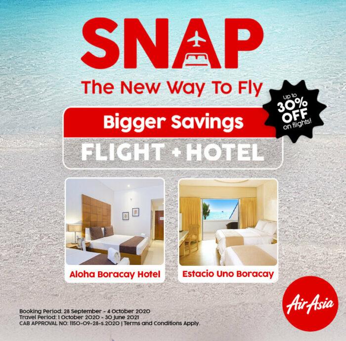 AirAsia Flight and Hotel Deals Boracay Reopening