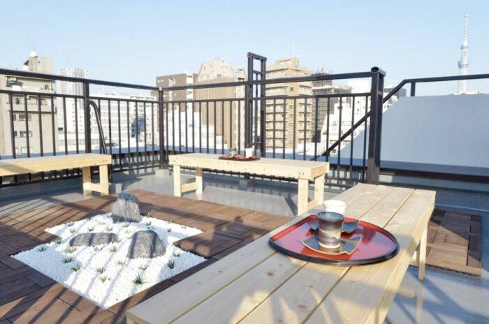 Airbnb Tokyo Rooftop