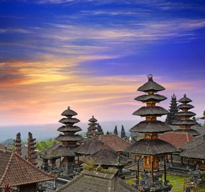 Besakih Temple photo via Depositphotos