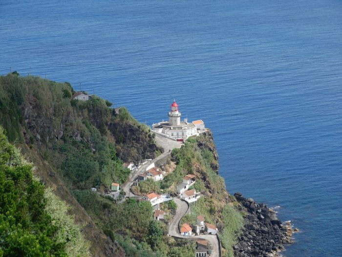 Best Hotels in Azores Portugal photo of Lighthouse by Kevin Kandlbinder via Unsplash